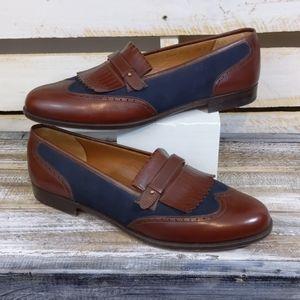 Salvatore Ferragamo leather loafers size 11.5